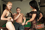 Delectable Karen & Reana In Threesome