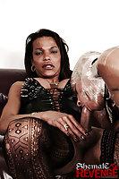 Karol with her mummified slave