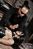 Dark Haired Tranny Slave Humiliated Maledom