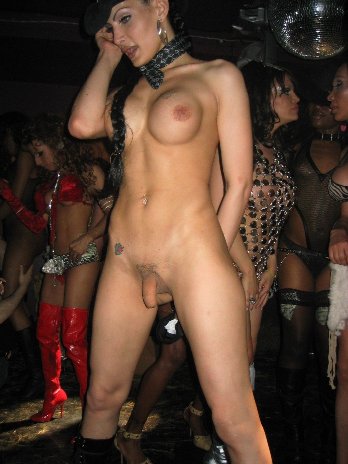 Nude Girls At Strip Club