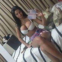 Juliana Vidal, fotos amadoras