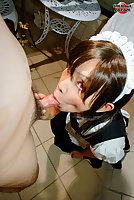 Yuko the maid gives head to her master