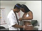 Doctor eats a latina trans in his room