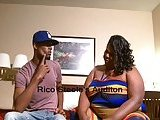 Fat Ebony Tranny JuicyNikki &amp; Rico Steele