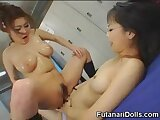 Asian Squirts On Futanari Teen