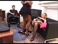 Appealing Tgirl Pleases Guy & His Girlfriend