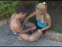 Brazilian TS Andreia In Fresh Screwing
