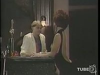 Vintage fucking in the cabinet