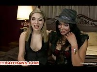 Transsexual Domina Intense Pussy Fucking