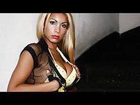Sexy Curvey Slide Show of Angel Cid - Hard On Vamp-up