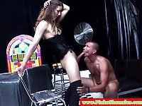 Sucking and fucking from a tranny in black