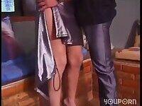Latina shemale enjoys her ass stuffing