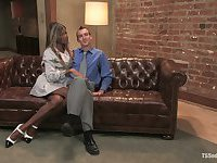 TS Seduction - Soleli & Dietrich Cyrus