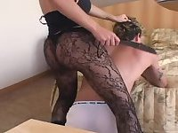 Erotic TS Thays Schiavinato gets her ass rammed in bareback sex