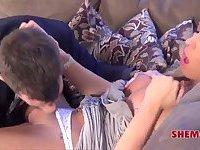 Aubrey Kate & Aaron Michaels relaxation
