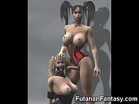 3D Shemales and Futanari Girls!