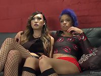 Venus and Jessica amazing scene