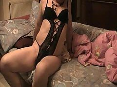 Amateur Transgender In Lingerie Solo Teasing at sexodirectory.com