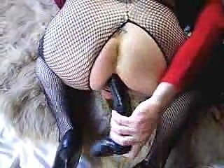 Sex toy for amateur crossdresser solo
