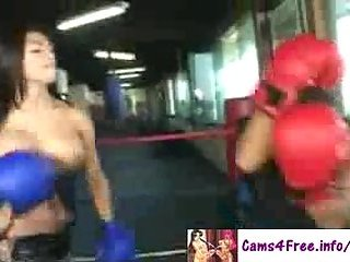 Gorgeous Tranny Fucked In The Gym