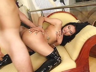 Pervert Fuck With A Latina Shemale