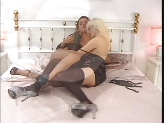 Transsexual Trio Fuck With Abundant Jizz