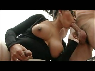 Office sex with TS boss