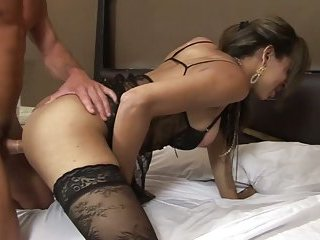 Amazing prostitute in sexy lingerie