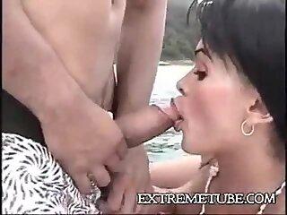 Hot fuck on yacht
