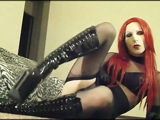 Goth CD With Toy