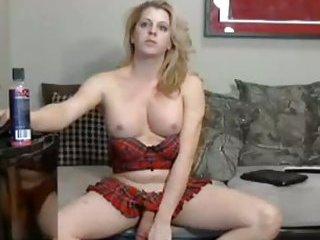 Blonde TS sweetie amateur solo