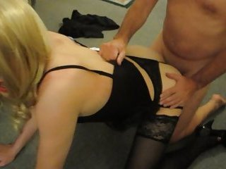 Lucy fucked on all fours