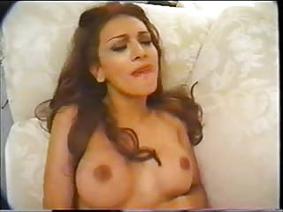 Titty Tranny Giving Head & Riding Black Cock