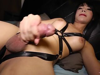 Extremely Cute Ladyboy Cums For You